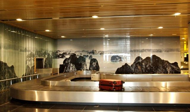 Hệ thống băng chuyền vận chuyển hành lý được nhập khẩu trực tiếp từ châu Âu.