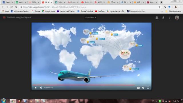 Hương vị Phở hiện đã theo các chuyến bay của Vietnam Airlines đến với nhiều nước trên thế giới