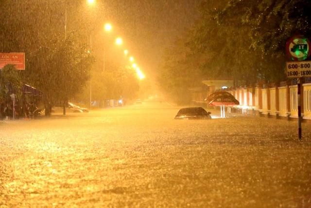 Khu vực đường số 4 thường xuyên ngập nặng mỗi khi mưa lớn