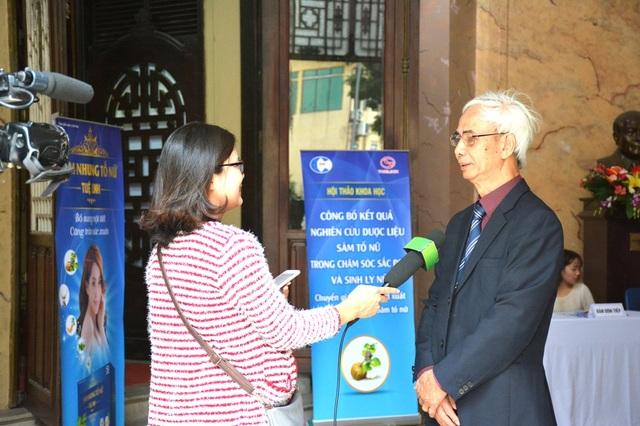 PGS.TS Nguyễn Thượng Dong phát biểu tại Hội thảo