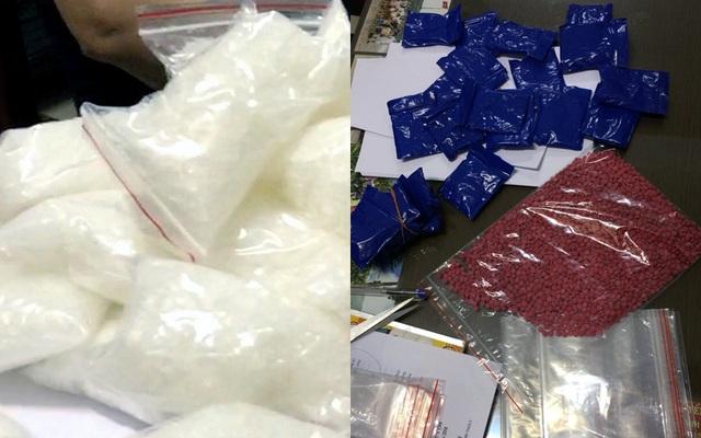 Lượng ma túy khủng bị cảnh sát thu giữ.