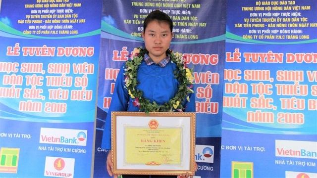 Thí sinh Đặng Thị Huyền (ảnh: Lê Văn/VNN)