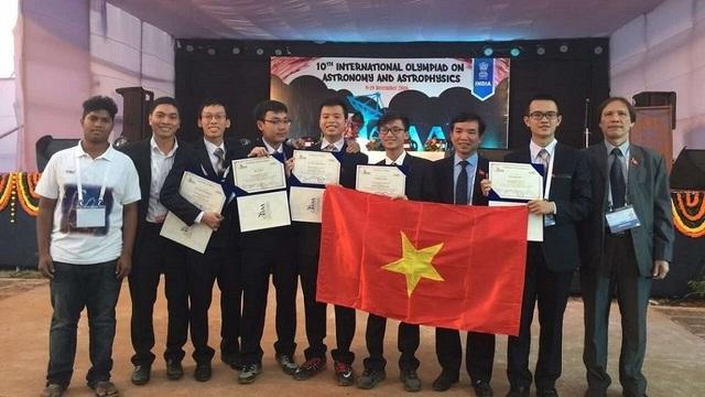 Việt Nam giành HCB Olympic quốc tế về Thiên văn học và Vật lý thiên văn - 1
