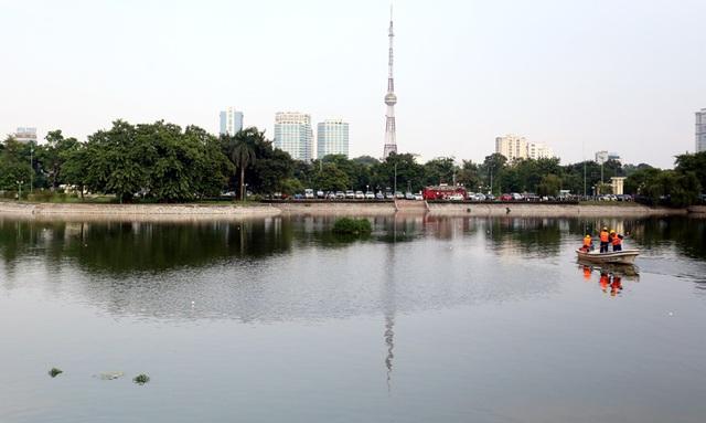 Hồ Hố Mẻ, Giáp Bát, Ba Mẫu đang được xử lý ô nhiễm