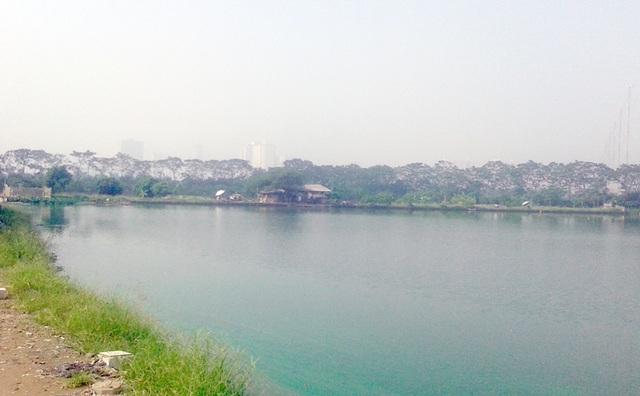 Khu vực được quy hoạch xây dựng nhà máy xử lý nước thải ở huyện Thanh Trì