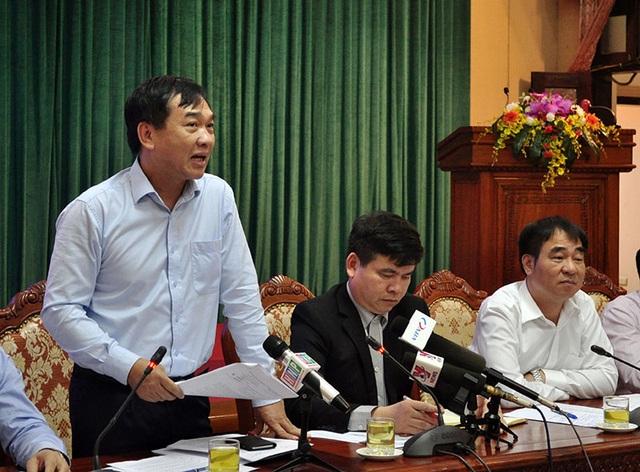 Ông Lê Văn Dục - Giám đốc Sở Xây dựng Hà Nội làm rõ tình hình ao hồ trên địa bàn Hà Nội