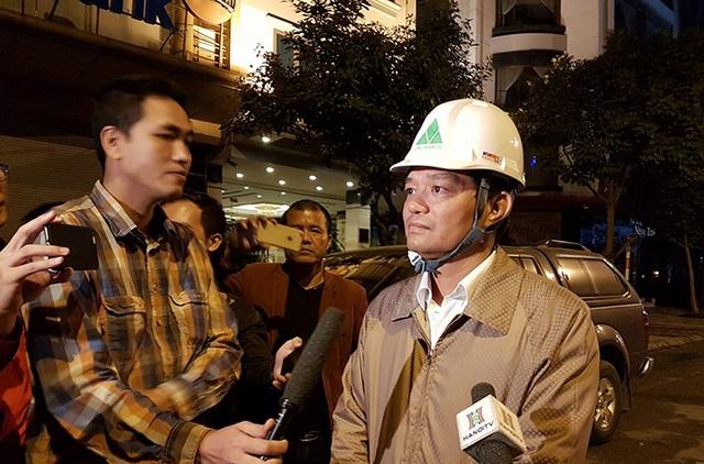 Chủ tịch UBND quận Cầu Giấy Dương Cao Thanh coi vụ cháy ở Trần Thái Tông là thảm họa