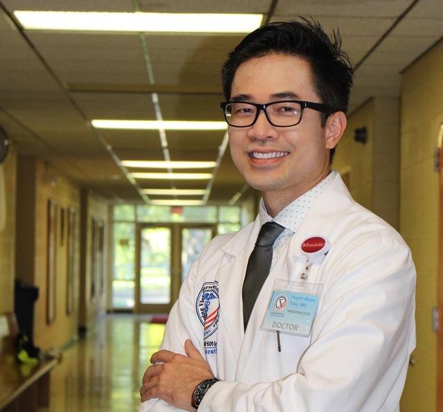 Bác sĩ gốc Việt Trần Huỳnh đã có 13 năm theo đuổi con đường Y học tại Hoa Kỳ.