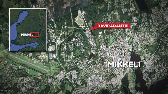 Thị trấn Mikkeli, miền Đông của Phần Lan - nơi xảy ra vụ án (Ảnh: mtv.fi)