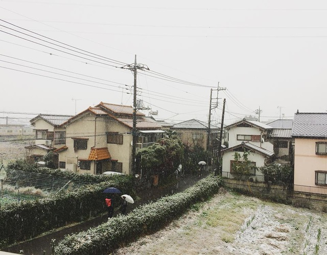 Mùa đông nước Nhật.