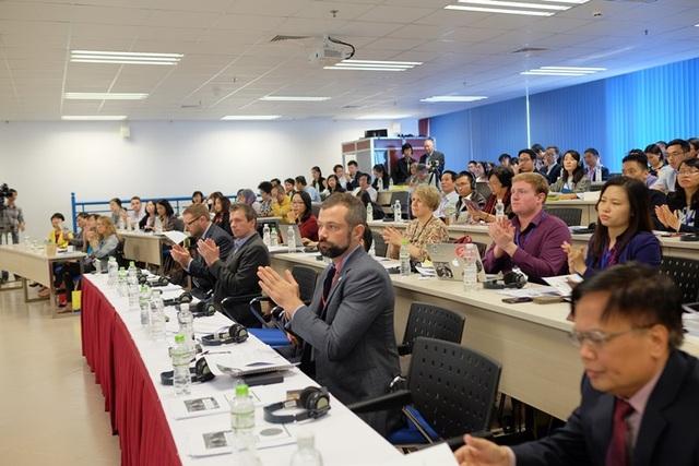 Chương trình hội tụ nhiều chuyên gia trong nước và quốc tế.