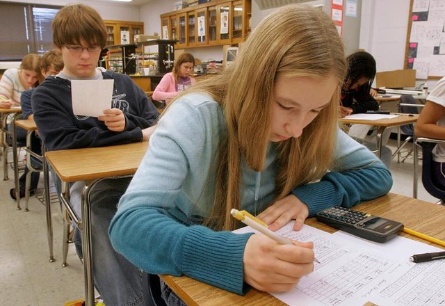 Học sinh ở Mỹ không cần giỏi đều các môn, chỉ cần tập trung vào năng khiếu hoặc chuyên môn của mình.
