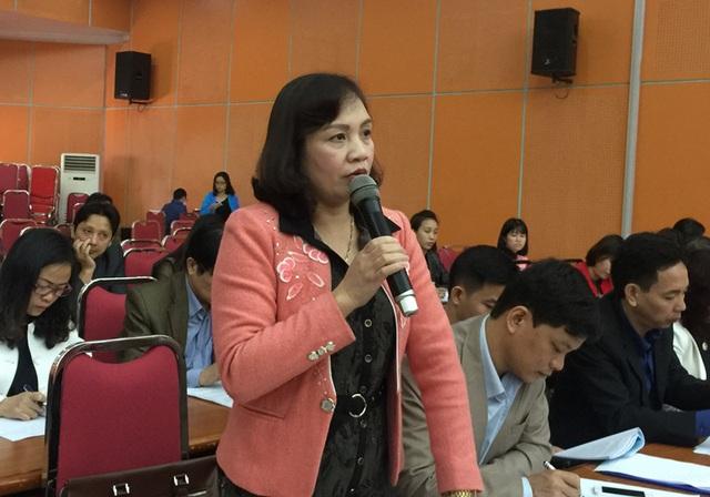 Bà Nguyễn Thị Thu Huyền – Phó Giám đốc Sở GD&ĐT tỉnh Phú Thọ.
