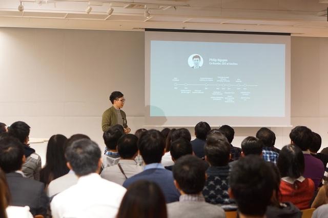 Phần 3: Chia sẻ về khởi nghiệp của một Việt Kiều Mỹ tại Nhật Bản bằng tiếng Anh.