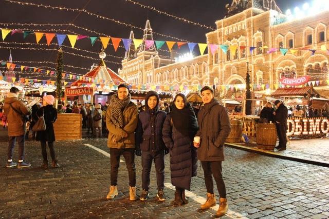 Giáng sinh sôi động, an lành của du học sinh Việt trên thế giới - 9