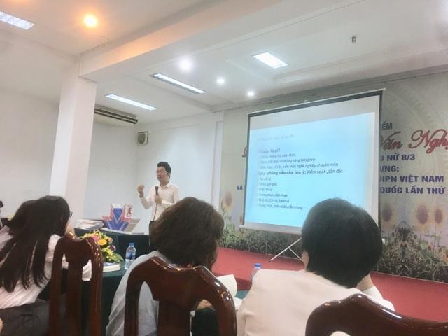Anh Trần Ngọc Thịnh chia sẻ bí quyết săn học bổng.
