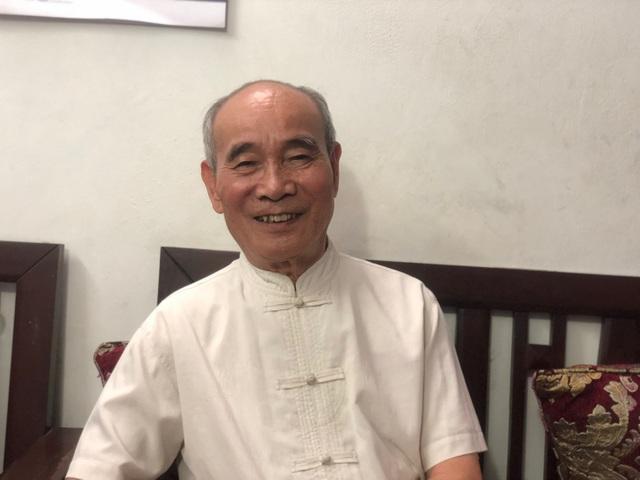 PSG.TS Nguyễn An Chất chia sẻ quan điểm của mình (Ảnh: Huyền Trang).