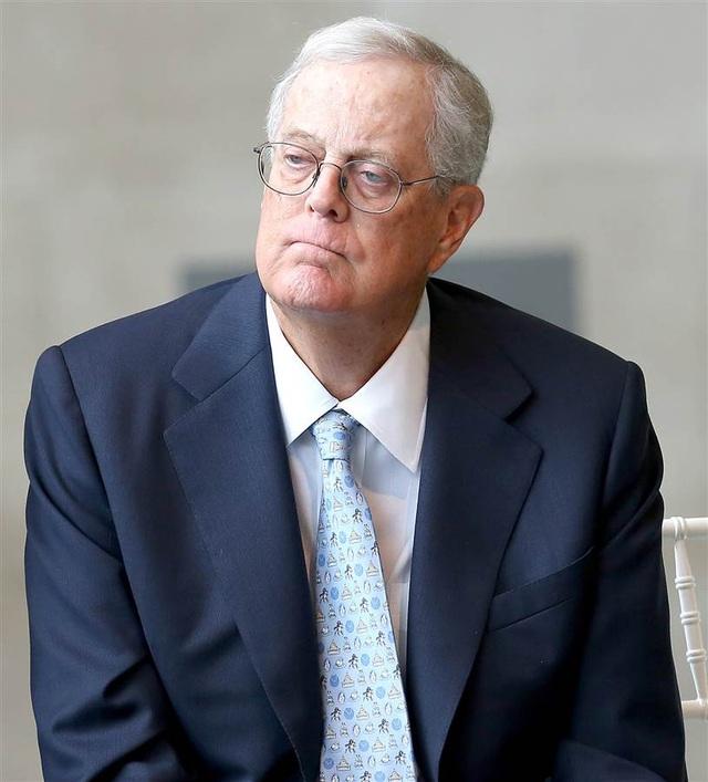 David Koch, Phó chủ tịch điều hành Koch Industries, tốt nghiệp năm 1962 và 1963. (Ảnh: NBC News)