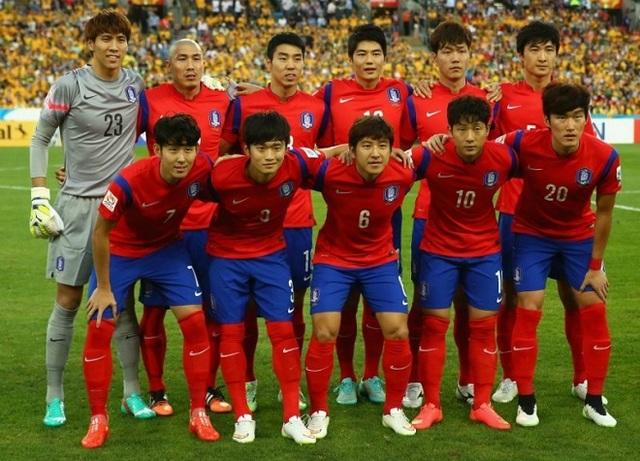 Cầu thủ Hàn Quốc.