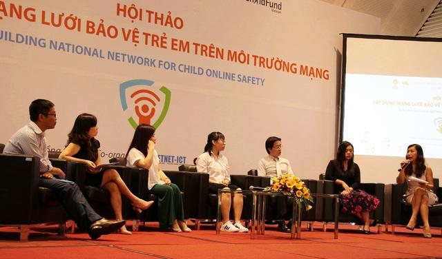 Đại diện nhiều bên cùng đối thoại để nỗ lực xây dựng mạng lưới bảo vệ trẻ em trên môi trường mạng.