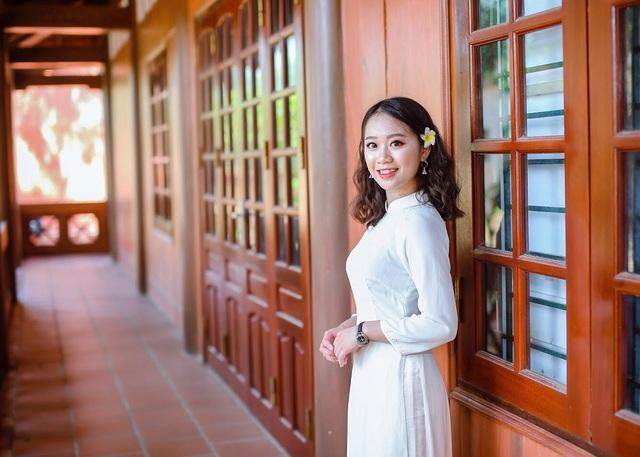 Hà Thị Minh Châu – thủ khoa khối C (27,5 điểm) của tỉnh Hòa Bình