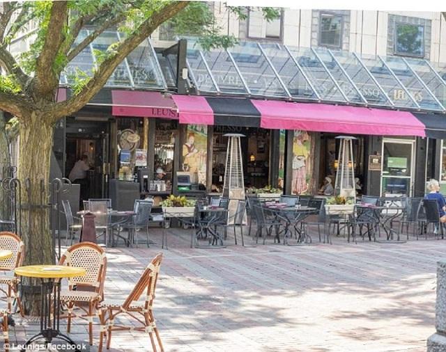 Quán cà phê đầu tiên ở Vermont thực hiện theo kế hoạch của Milo đề xuất từ năm 2010. (Nguồn: Daily Mail)