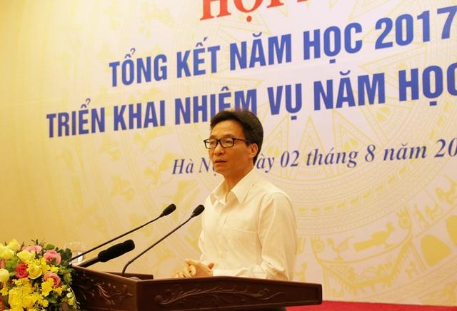Từ ví dụ thi cử, Phó Thủ tướng nhấn mạnh đổi mới giáo dục phải cởi mở, minh bạch mới tạo sự đồng thuận và sức mạnh đồng thuận.