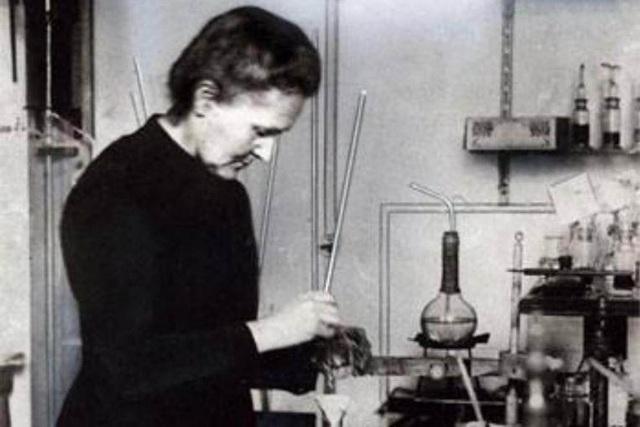Nhà khoa học 2 lần đoạt giải Nobel Marie Curie. (Ảnh: Facebook)
