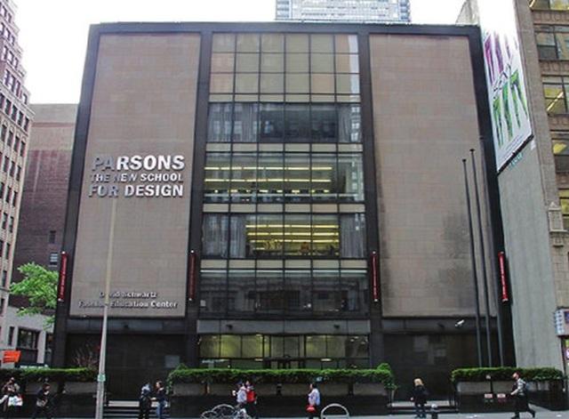 Khuôn viên trường Parsons School of Design.