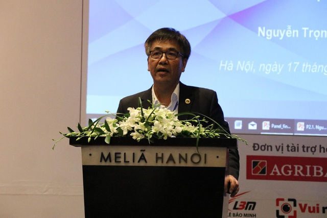 GS.TS Nguyễn Trọng Hoài, Hiệu trưởng trường Đại học Kinh tế TPHCM.