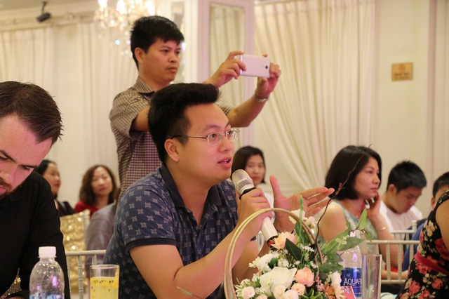 Ông Trần Quang Hưng, Uỷ viên ban chấp hành Trung ương đoàn khoá XV - Phó Trưởng ban Thanh niên, Trường học Thành Đoàn Hà Nội – nhiệm kỳ 2017-2022.