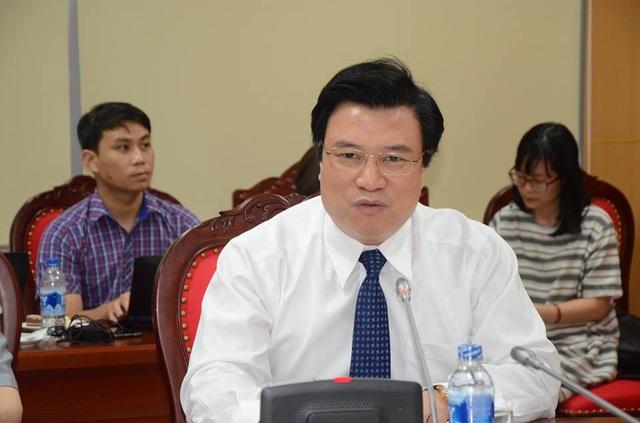 PGS.TS Nguyễn Hữu Độ - Thứ trưởng Bộ GD&ĐT.
