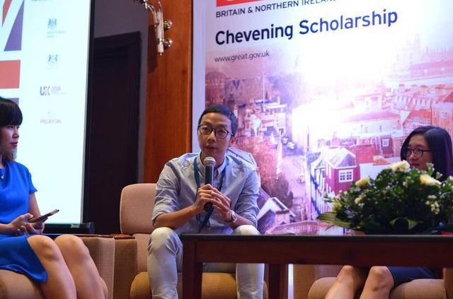 Anh Lê Tuấn Bình (cựu sinh viên chương trình học bổng Chevening – học bổng danh giá của Bộ Ngoại giao Anh tại đại học Glasgow) chia sẻ bí quyết giành học bổng.