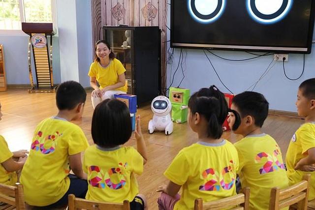 Robot Keeko được giới thiệu tại các trường mầm non tại Trung Quốc.