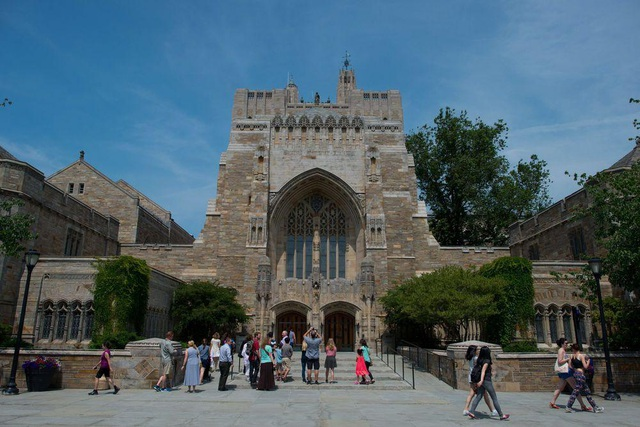 Đại học Yale, New Haven, Connecticut, Mỹ.