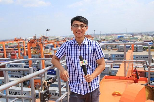 Phan Thanh Tùng khi còn công tác tại Đài truyền hình Việt Nam.