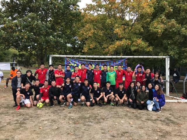 Du học sinh Việt sôi nổi tranh giải bóng đá sinh viên trên đất Pháp - 5