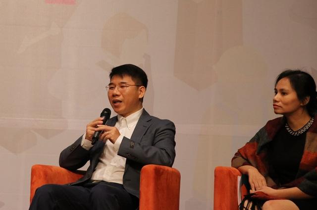 Ông Ngô Quang Vinh chia sẻ về xu hướng nghề nghiệp trong tương lai.