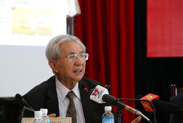 GS.TS Phạm Huy Dũng - Phó Chủ tịch Hội đồng quản trị Trường Đại học Thăng Long.
