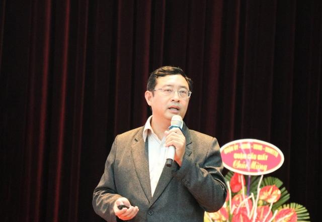 TS. Phạm Hồng Quất - Cục trưởng Cục phát triển thị trường và doanh nghiệp khoa học công nghệ - Bộ KH&CN.