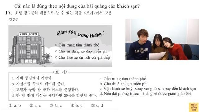 """Thử sức đề thi Tiếng Việt trong kỳ thi Đại học """"sinh tử"""" ở Hàn Quốc - 4"""