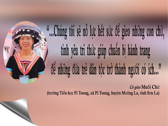 """""""Tiếng lòng trăn trở"""" của những nhà giáo tiêu biểu toàn quốc nhân dịp 20/11 - 1"""