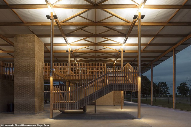 Ngôi trường tại Brazil được vinh danh là công trình kiến trúc xuất sắc nhất thế giới - 2