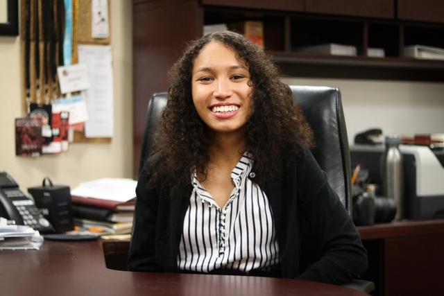 Kristine là người phụ nữ da màu đầu tiên nắm quyền lãnh đạo tờ báo nổi tiếng của Harvard.