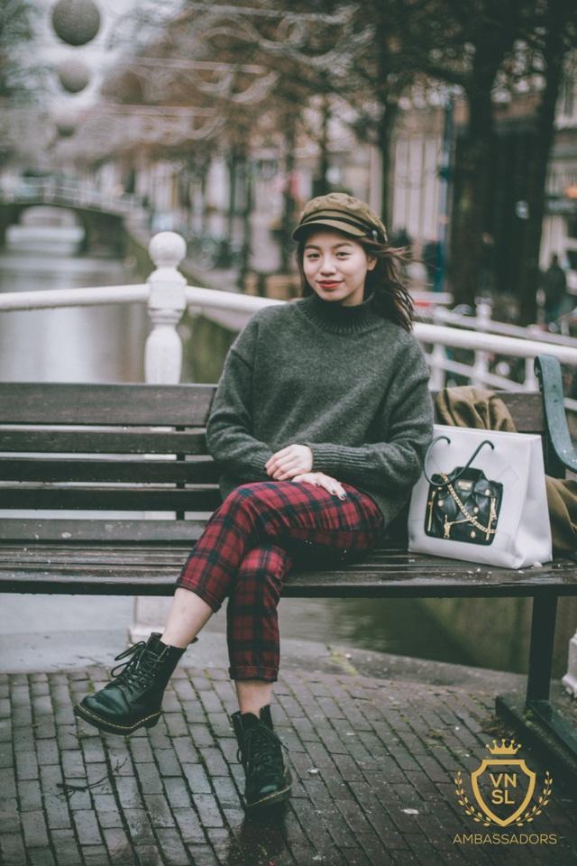 Thí sinh Đào Thị Kim Trang - Sinh viên trường Han University of Applied Sciences.