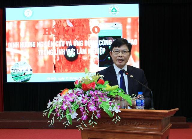 GS.TS. Phạm Văn Điển - Phó Tổng cục trưởng Tổng cục Lâm nghiệp.