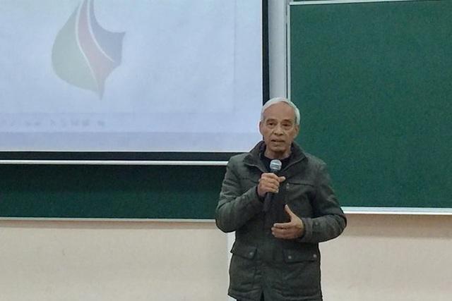 Ông Vũ Huy Kiều – nhà thiết kế sản phẩm thủ công mỹ nghệ.