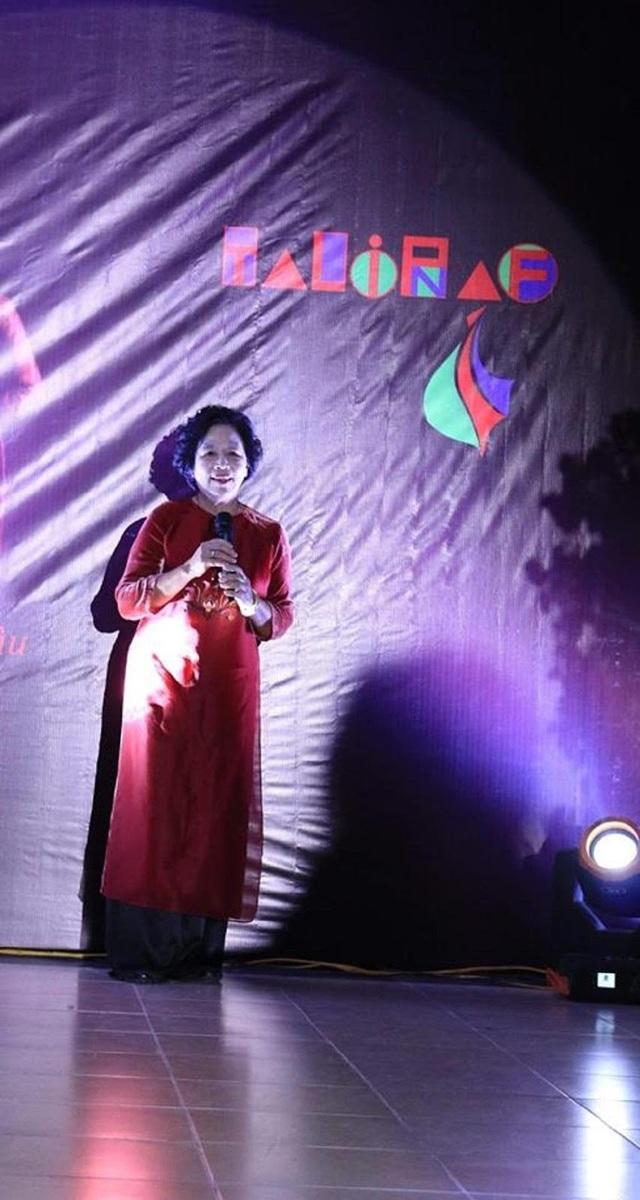 PGS.TS Trần Lưu Vân Hiền phát biểu tại sự kiện.