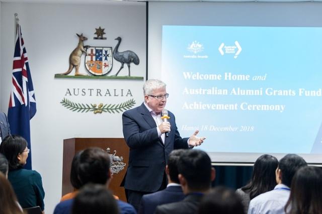 Đại sứ Australia – Ngài Craig Chittick phát biểu khai mạc chương trình.