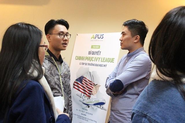 Thạc sĩ Trần Đắc Minh Trung chia sẻ nhiều lời khuyên hữu ích cho ứng viên nhằm chinh phục ĐH top của Mỹ.